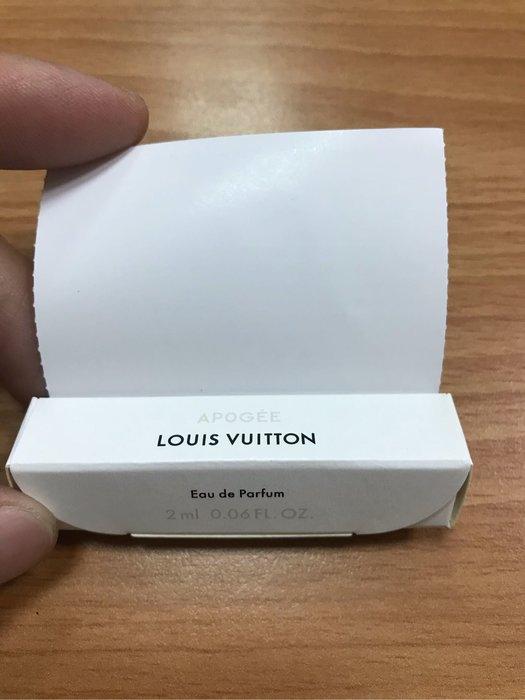 全新現貨LV Louis vuitton  香水 APOGEE 巔峰 2ml針管小香 原廠 試管香水 針管香水