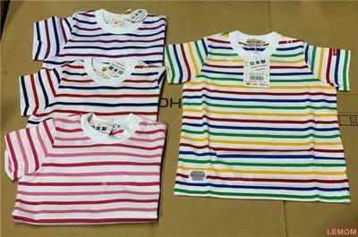 LEMON玩具國現日本代購mikihouse經典條紋日本制短袖T恤10-5202-459M2