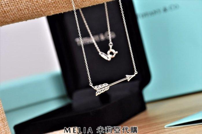 Melia 米莉亞代購 Tiffany&Co. 925純銀 2018Sss Tiffany 蒂芙尼 項鍊 愛神之箭