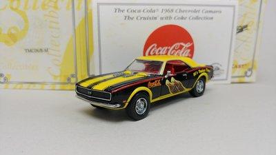 可口可樂 1:43 Chevrolet Camaro 1968 Coke 合金模型