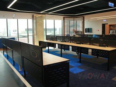 【耀偉】GAMMA系統工作站 (辦公桌/辦公屏風-規劃施工-拆組搬遷工程-組合隔間-水電網路)6