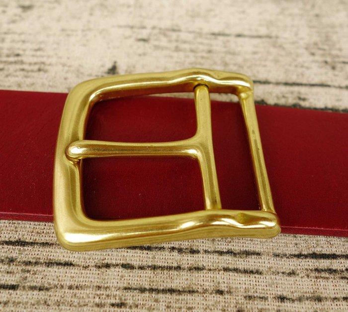 純銅 TYB160  內徑3.6CM 皮帶頭 皮帶扣 皮帶配件 皮雕diy solid brass buckle