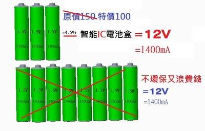 89露營光LED燈條 12V行動電池盒...