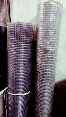 """點焊鋼絲網 點焊網 17#  1"""" (1英吋孔徑)4尺寬 全長約50尺 鍍鋅網 鐵網 圍籬 _粗俗俗五金大賣場"""
