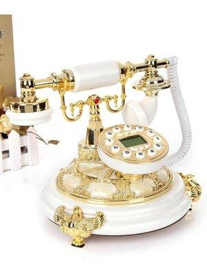 仿古電話機復古高檔無線歐式電話座機有線家用固定辦公電話機座機