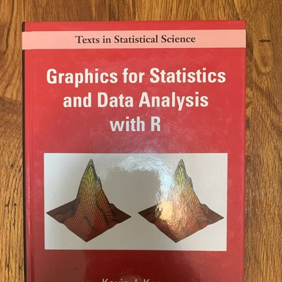 Graphics for Statistics and Data Analysis with R (Hardcover) ISBN:1584880872