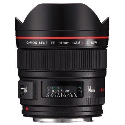 【中野數位】Canon EF 14mm f2.8 L USM II 公司貨 免運 14MM