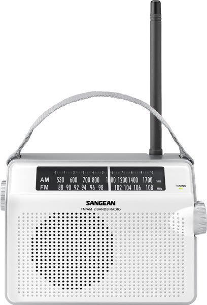 【免運費】SANGEAN 二波段調頻 / 調幅 復古收音機 PR-D6