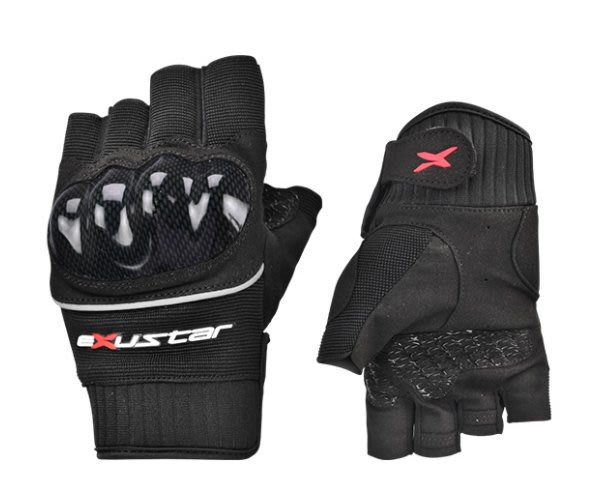 【亞駒部品】Exustar E-MG231 Glove 重機手套 自行車/機車/手部防護/透氣/半指手套  €全新正品