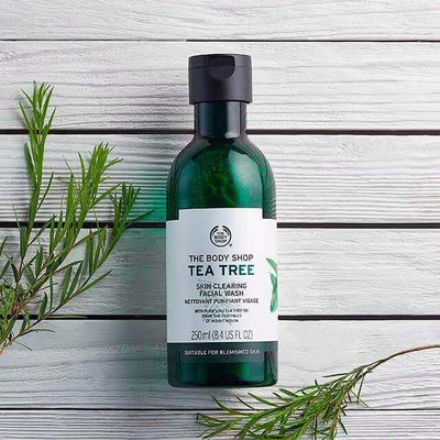 The Body Shop  - 茶樹淨膚深層潔面膠-250ML 免台灣運費 7月底到貨