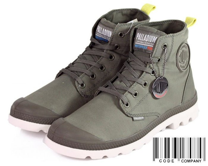 =CodE= PALLADIUM PAMPA PUDDLE LT WP WB 防水輕量軍靴(墨綠)75970-339 女