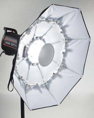 呈現攝影-德國Phottix 摺疊型雷達罩 70cm白底附柔光布 美膚罩 外拍棚拍 快收罩 離機閃保榮口