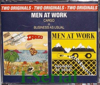工作者合唱團/ MEN AT WORK / CARGO / BUSINESS AS USUAL 雙CD專輯(荷蘭版Z1)