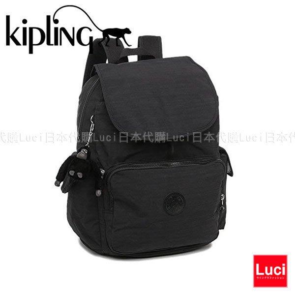 KIPLING 18737 H53 CITY PACK L 大款 媽媽包 後背包 翻蓋 書包 小猴子 LUCI日本代購
