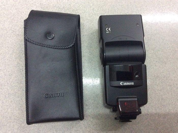 [保固一年明豐相機] CANON 540EZ 日本製 閃光燈 功能都正常便宜賣