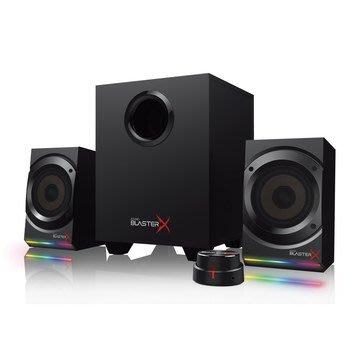 CREATIVE MF Kratos S5  喇叭 可制定RGB燈光系統的 2.1 電競喇叭