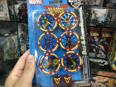【雙子星】骰子與指示物組 X戰警動畫版 X-Men the Animated 黑鳳凰 反轉英雄