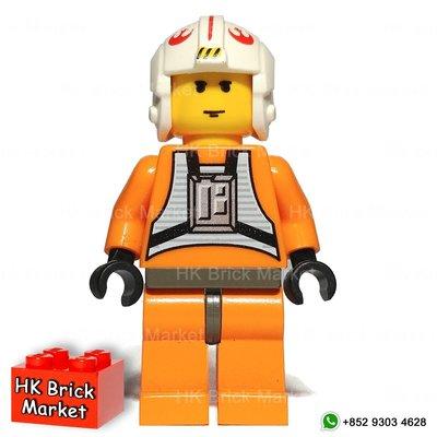 HK Brick Market LEGO 7130 7140 4483 Luke Skywalker (Pilot) sw019 Star Wars 星球大戰