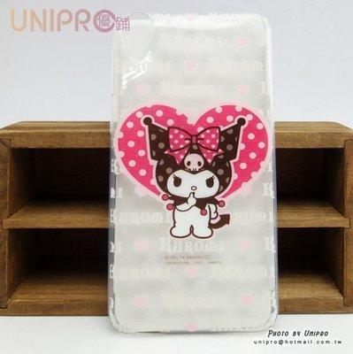 【UNIPRO】HTC Desire 820 820S 三麗鷗 Kuromi 酷洛米 庫洛米 軟殼 手機殼 保護套 正版