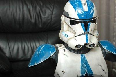 【烏龍1/2】sideshow ps3  星際大戰 Star Wars 501軍團  複製人士兵 Clone Trooper 1:1 胸像 Life-Size Bust