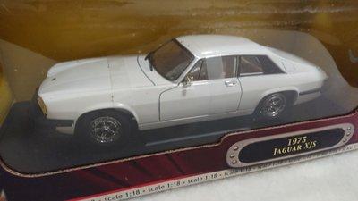 1975年份JAGUAR XJS 經典古典金屬模型車絕版收藏版全新1:18稀有釋出請保握