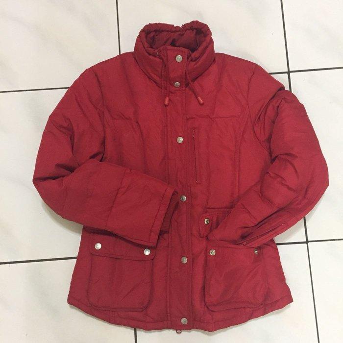 IBS 專櫃品牌 ❤️ 二手  紅色淑女基本款保暖防風外套   有腰身