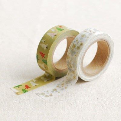 ❅PAVEE❅【現貨】韓國DailyLike~ Masking Tape 聖誕樹 紙膠帶~ Winter Green