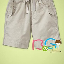 【B& G童裝】正品美國進口GAP Ripstop pull-on shorts 男童卡其色薄短褲18-24mos