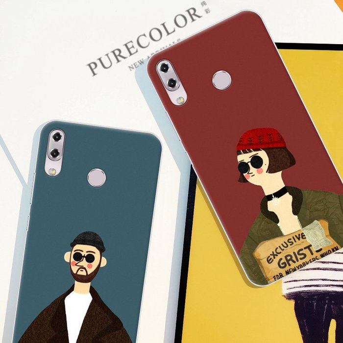 華碩5 2018手機殼ZS620KL硅膠軟套Zenfone ZE620KL日韓防摔男女款手機保護殼