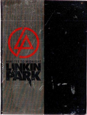 LINKIN PARK 聯合公園 末日警鐘 毀滅‧新生 美國精裝限量版 (DVD透光無法撥放) 再生工場1 03