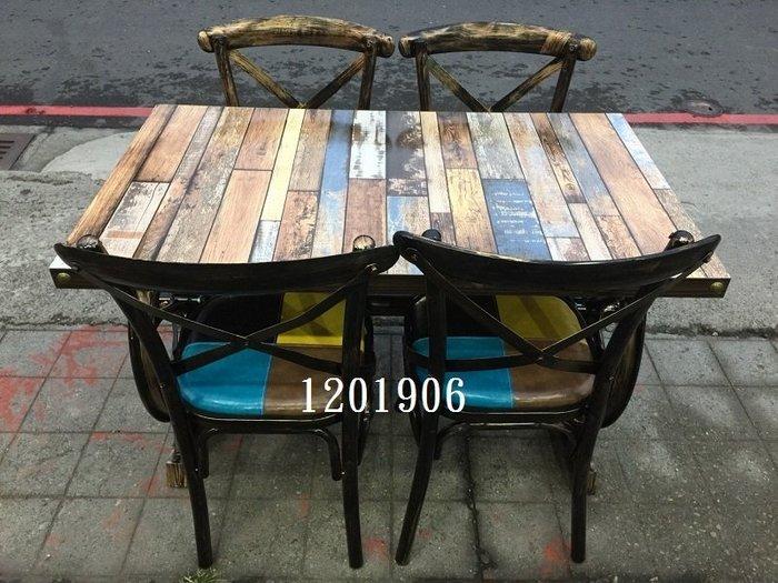 【弘旺二手傢俱】全新/庫存 工業風#2長方形餐桌 泡茶桌 吧台桌 會議桌 辦公桌 書桌-各式新舊/二手家具 生活家電買賣