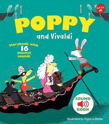*小貝比的家*POPPY AND VIVALDI/ 精裝書/ 4-5歲中班/ 聲音書 台中市
