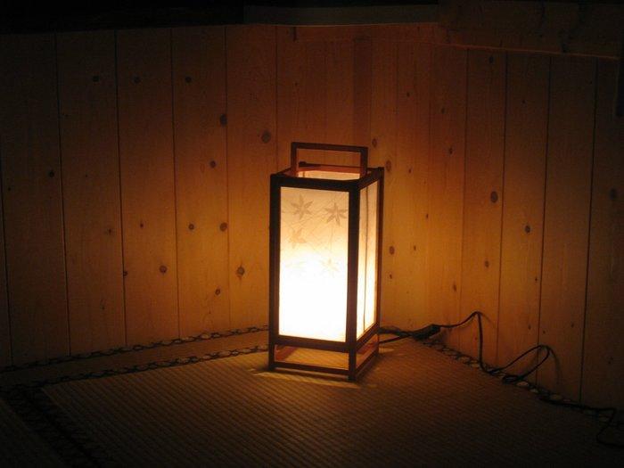 傳統日式燈 和室地燈 小夜燈