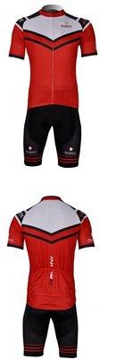 二套免運 車隊 紅 短袖 自行車套裝 ...