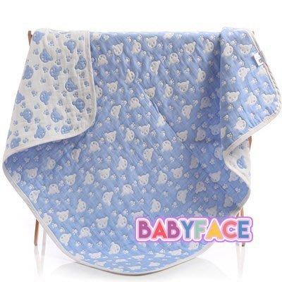 BabyFace【八層紗】紗布料日本品質厚實童被兒童毛巾被四季寶寶蓋毯抱被浴巾萬用可愛美觀品質優多用途(115*115)