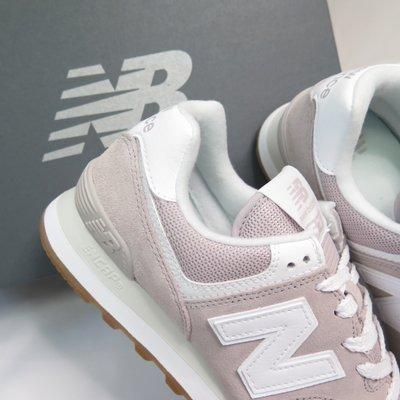 5號倉庫 New Balance 574 女復古慢跑鞋 耐磨舒適 WL574PA2 台灣公司貨原價2880 奶茶粉 B楦