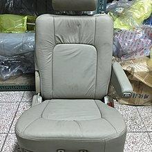 @中華三菱MITSUBISHI@幸福力SAVRIN~全新原廠第二排座椅~米色皮椅~~