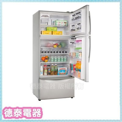 歌林 變頻 481L 3門冰箱【KR-348V01】【德泰電器】