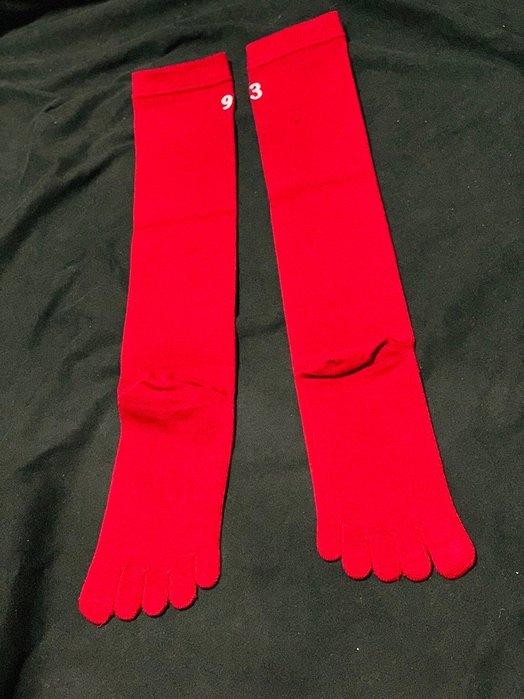 貳拾肆棒球-日本帶回Mizuno 日職棒東北樂天支給式樣五趾襪一雙/日製