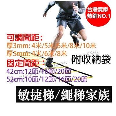 8m 8米 8公尺敏捷梯/ 速度梯/ 繩梯/ 能量梯/ 跳格梯/ 田徑足球短跑折返跑健身房 送收納袋 路跑 8米敏捷梯 高雄市