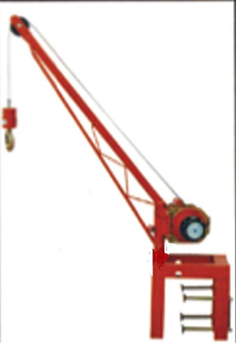 200kg捲揚機,基業牌吊車,夾架,鋼索式吊車,鋼索,吊車,小金剛,快速吊車,立架,中型架,