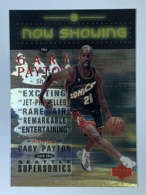 1999-00 Upper Deck Now Showing #NS25 Gary Payton SuperSonics