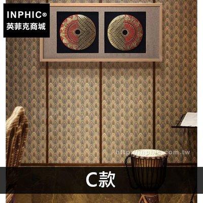 INPHIC-泰式會所裝飾畫金彩圓盤實...