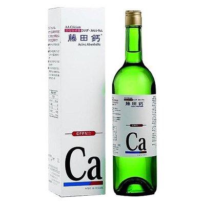【亮亮生活】ღ AA鈣 藤田鈣液劑750ml ღ 含骨骼所需之礦物質 容易吸收