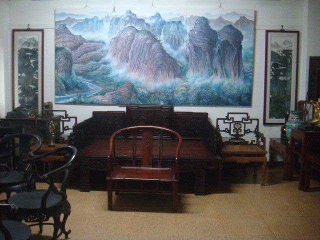 名畫家作品及各類古董文物酸枝木床桌椅銅木雕收藏割讓典藏(免費參觀)歡迎藝文之旅