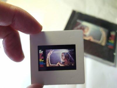 1992年Neil Jordan的電影 亂世浮生The Crying Game原聲帶專輯封面,35mm正片幻燈片