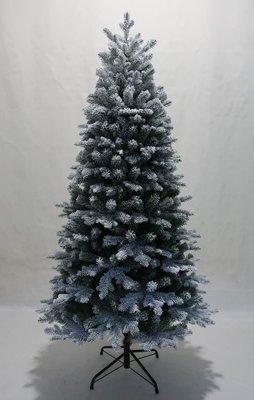 聖誕樹擺件聖誕節裝飾1.8米高植毛聖誕裝飾樹家庭擺飾180CM噴雪樹