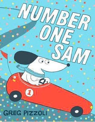 *小愛愛童書*【全新英文平裝繪本】Number One Sam Greg Pizzoli 山姆第一名英文版
