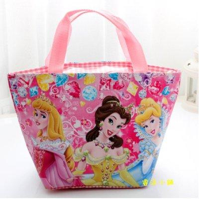 【現貨-主圖】迪士尼公主 餐袋 餐包 便當袋 便當包 側背包 拉桿書包 小學生 白雪公主 美女與野獸
