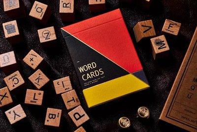 [fun magic] Word Cards 英文單字撲克牌 英文單詞撲克牌 花切撲克牌 花切專用撲克牌 花切專用牌